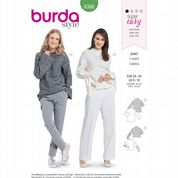 6366 Burda Pattern: Misses' Stretch Pullover